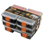 Organizers - Set of 5 - Orange/Black