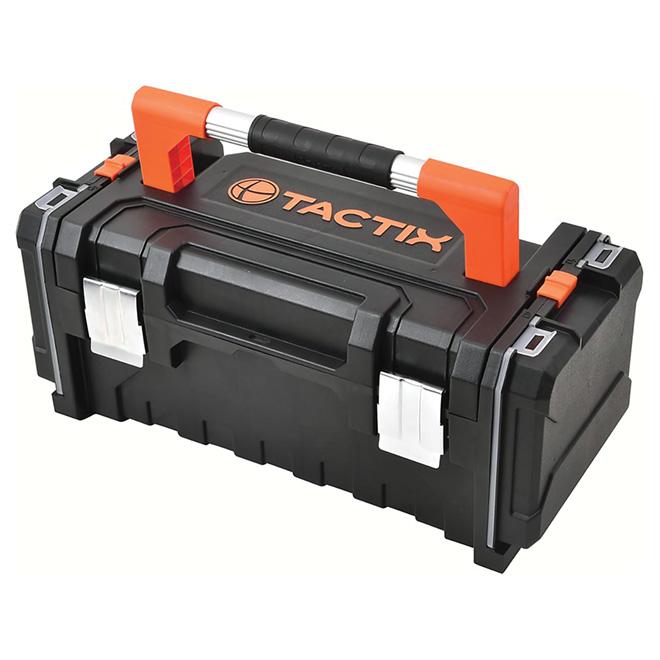"""Coffre à outils avec compartiments amovibles, 20"""""""
