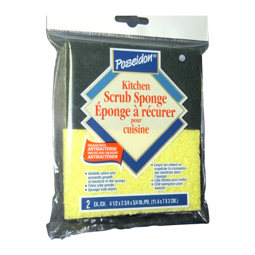Canada Sponge&chamoi 2-Pack Kitchen Sponges 45112-0
