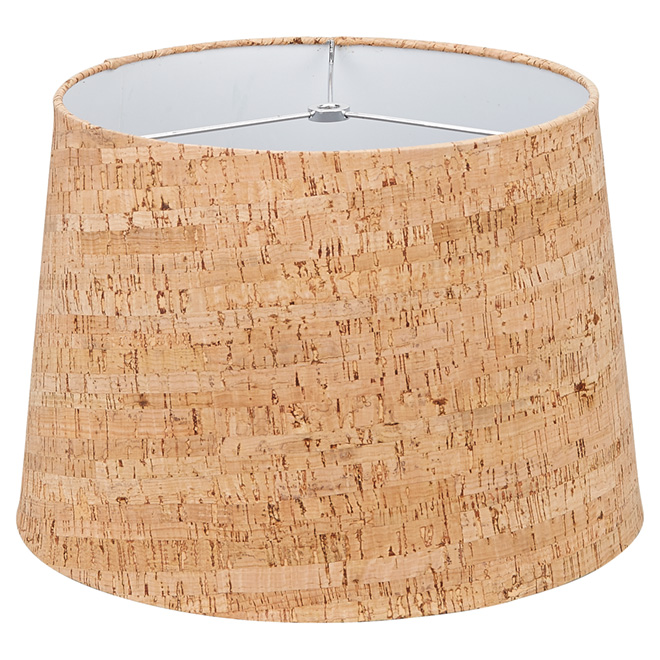 Lamp shade 13 cork rona lamp shade 13 cork greentooth Choice Image