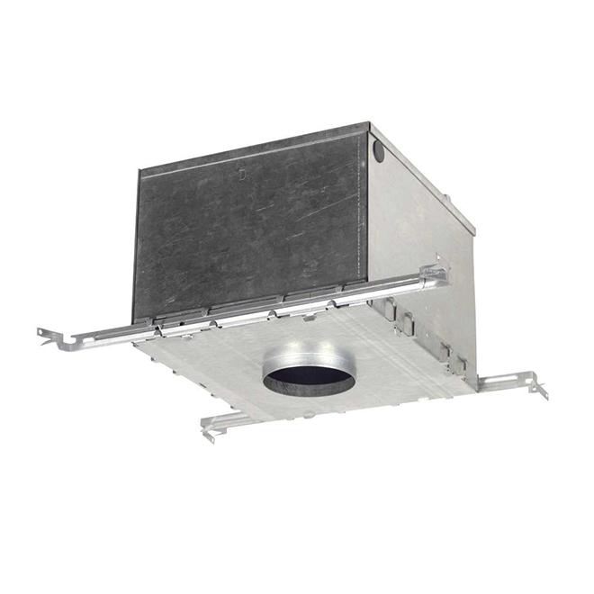 Boîte de conversion pour plafonds isolés, luminaires encastrés