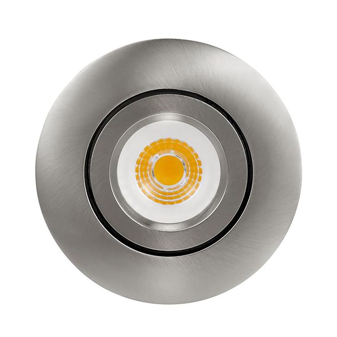 "Gimbal Trim Recessed Light Kit - LED - 4"" - Nickel"