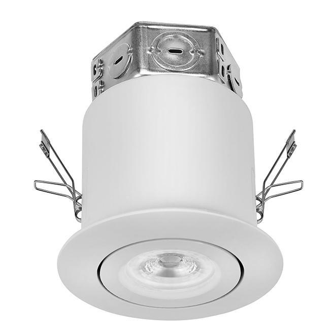 "Gimbal Trim Recessed Light Kit - LED - 4"" - White"