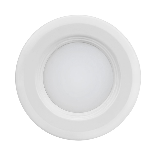 "Recessed Light with Baffle - LED - 3"" - Matte White"