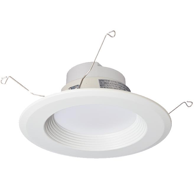 """Luminaire encastrable DEL, contrôle watt/temp couleur, 5/6"""""""