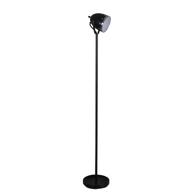 """Lampe sur pied 58"""", noir"""