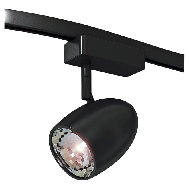linear track lighting head black rona