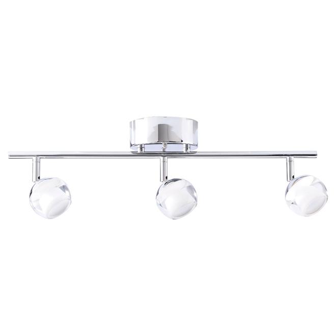 Rail d'éclairage, intensité réglable, Atlas, 3 lumières, DEL