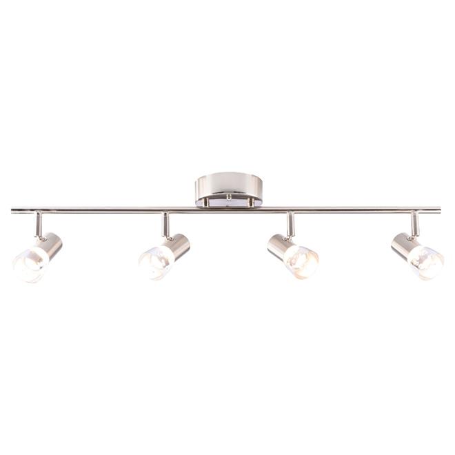 Rail d'éclairage, intensité réglable, Avery, 4 lumières, DEL