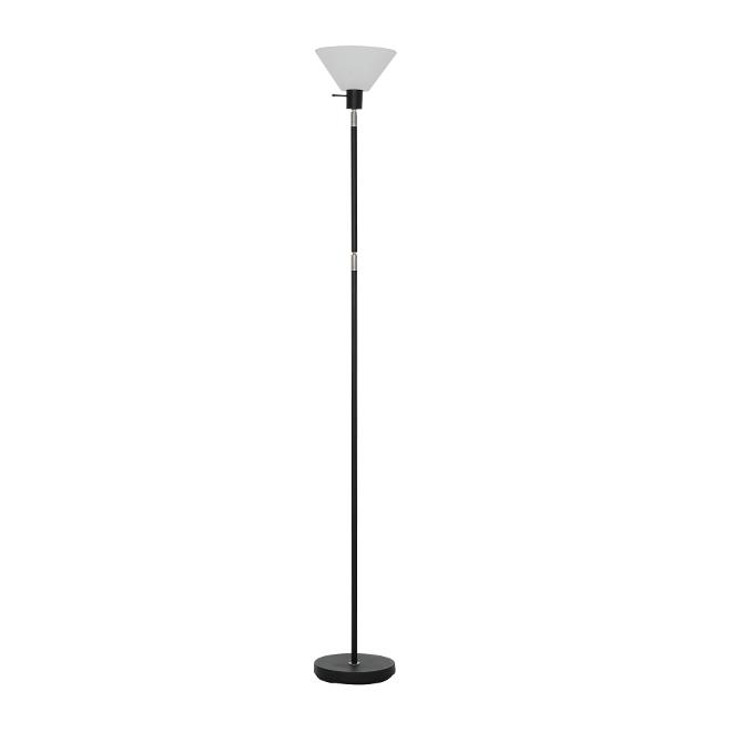 Catalina Floor Lamp - Adjustable Torchiere - 100 W - Black