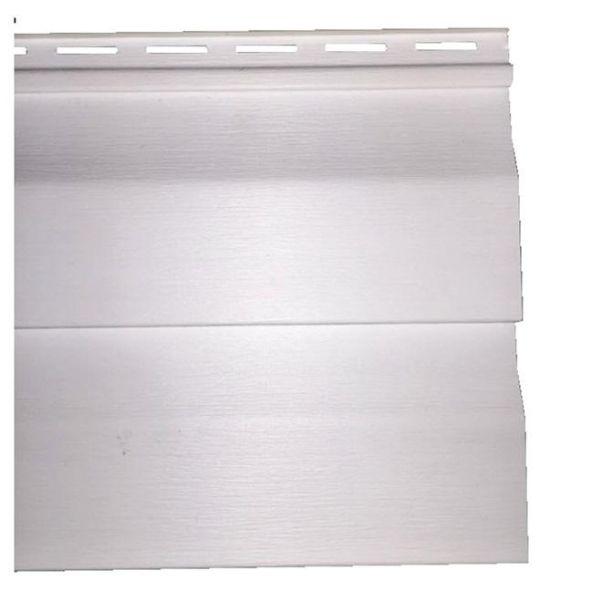 Revêtement en vinyle D4.5DL, blanc, 10'