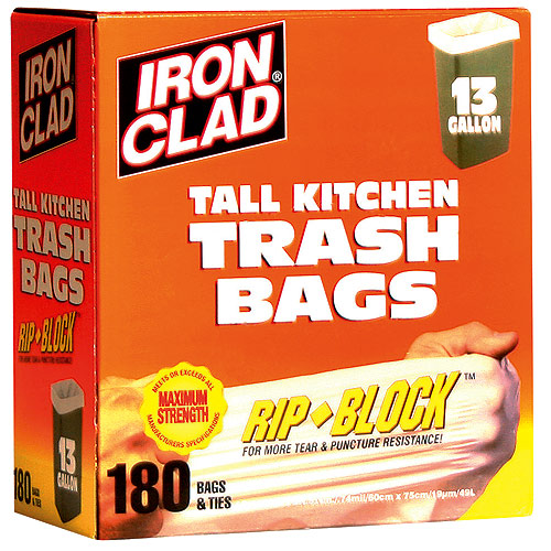 Iron Clad Garbage Bag HD18013