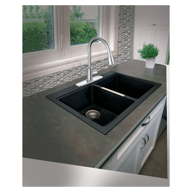 Uberhaus Industrial Kitchen Faucet Chrome 10plfp019cp Rona
