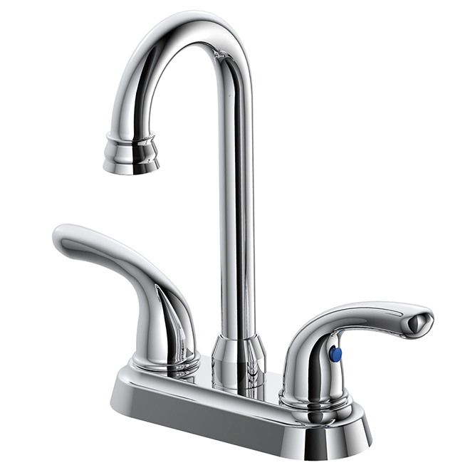 Bar Faucet - 2 Levers - Chrome Finish