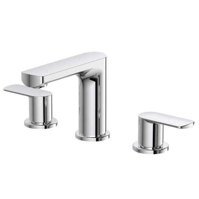 Allen + Roth Primo 2-Handle Bathroom Faucet - Chrome
