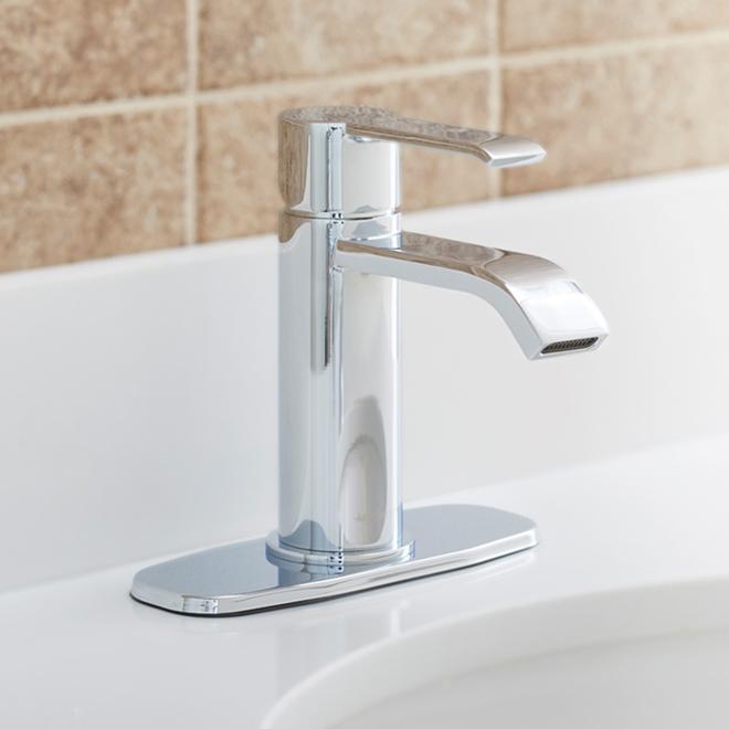 Robinet de lavabo Allen + Roth Veda, 1 poignée, chrome