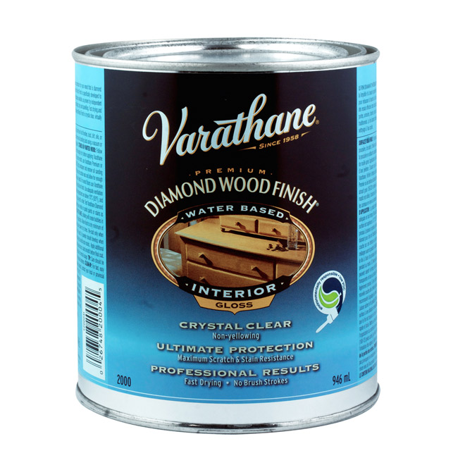 Varathane Diamond Varnish - 946 ml - Clear Gloss