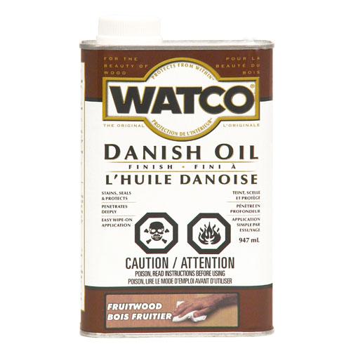 Fini à l'huile danoise