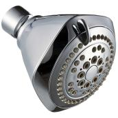 Shower head - 5 settings - Chrome
