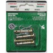 Snowblower Shear Pin - 2'' x 7/16'' - 4/Pack