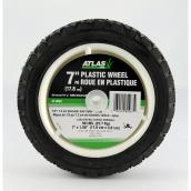 Atlas Universal Plastic Wheel - 7-in x 1 1/2-in