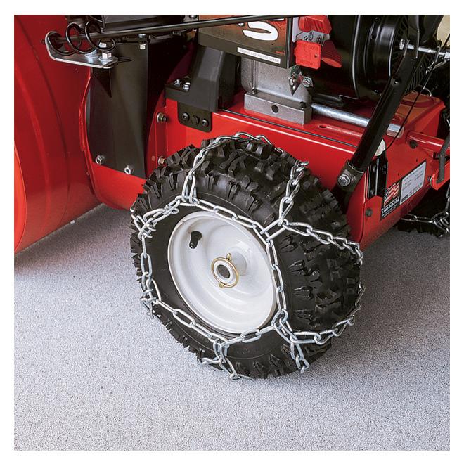 "Tire Chain for Sno-Hog Snowblower Tires - Metal - 16"" - 2/Pk"