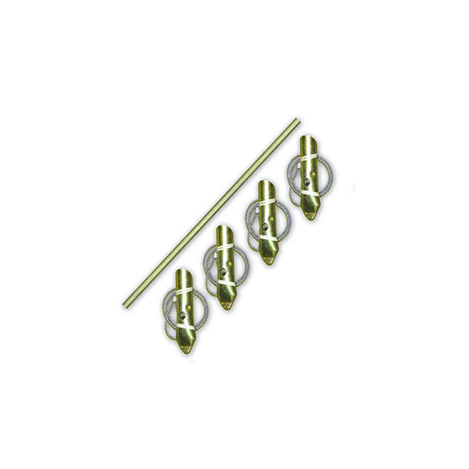 Anchor Cable Kit - Zinc - 4/PK