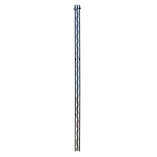 Poteau pour corde à linge