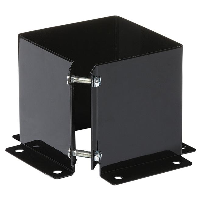 Fixing Base - 6'' x 6'' - Steel - Black