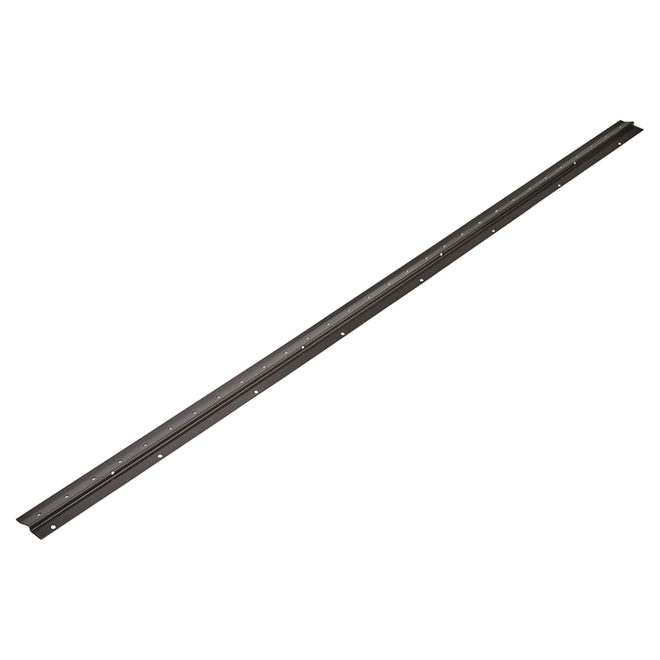 Deck Track - 45'' - Steel - Pylex - Black