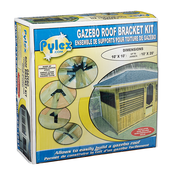 Ensemble de supports pour toiture de gazébo, 10' x 10' - 20'