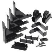 Sliding Gate Hardware Kit - Black