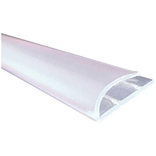 Moulure de tapis style « J » en PCV 36 po, transparent