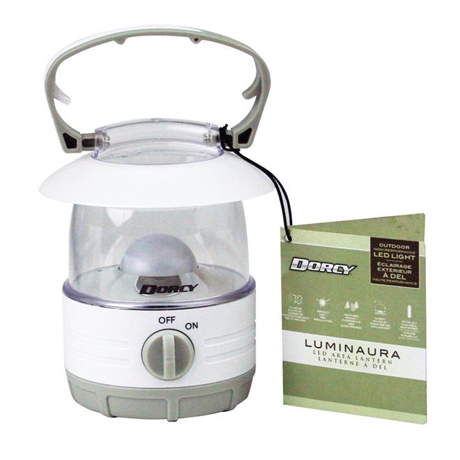 Lanterne DEL à piles «Luminaura»
