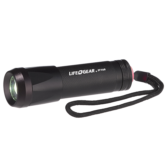 Multifunction LED Flashlight - Black