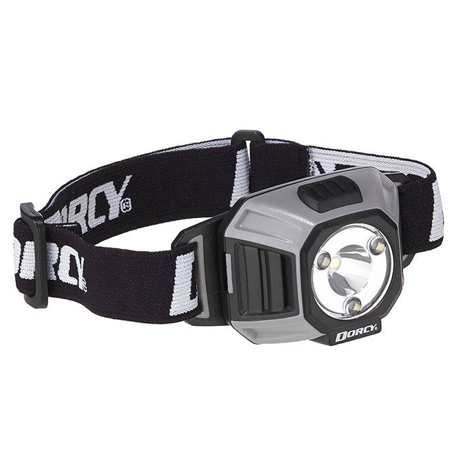 Multifunction LED Headlight - Grey