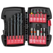 Set of 15 Bits and Drill Bits