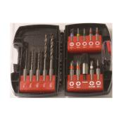 Set of 15 Bits and Drill Bits set