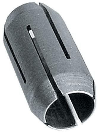 Pince de serrage de 1/4'' avec écrou gris argent
