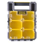 Boîte à compartiments « FatMax » en plastique noir de 10