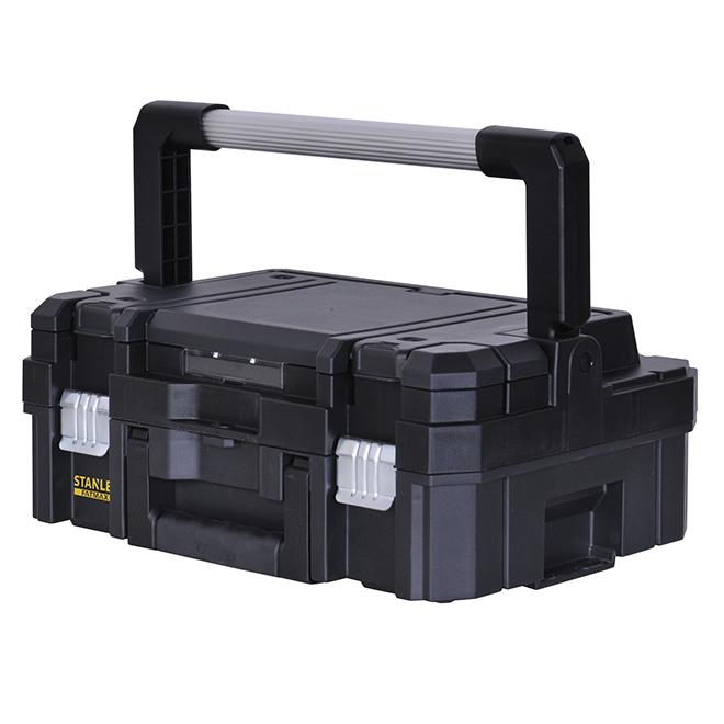 18-in Tool Box - Plastic - Black