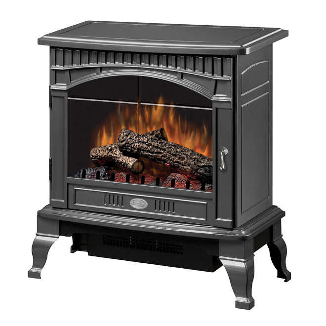 """Sheffield Electric Stove - 25"""" x 26.5"""" x 15.5"""" - Pewter"""