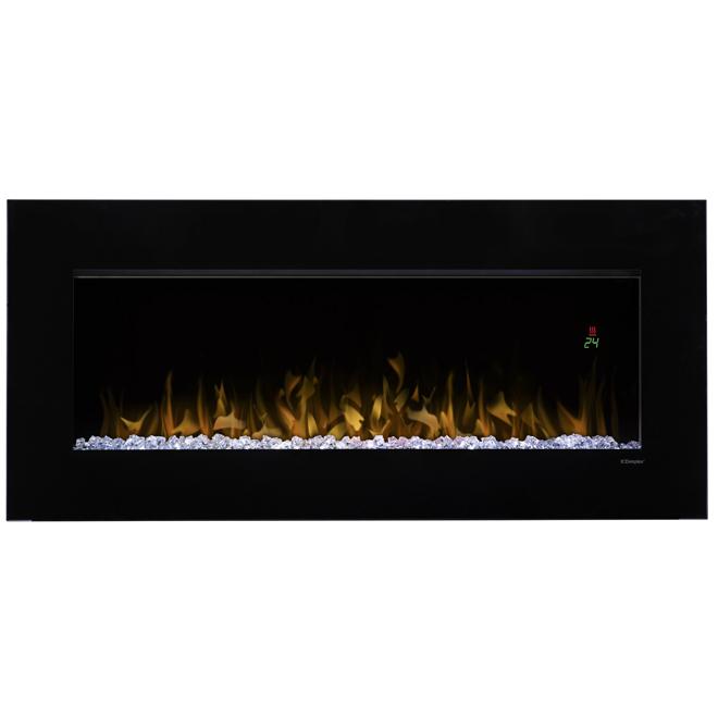 """Nicole"" Electric Wall-Mount Fireplace - 4231 BTU"