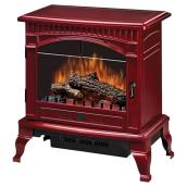 Traditional Electric Stove - Cranberry Finish - 1500 Watts