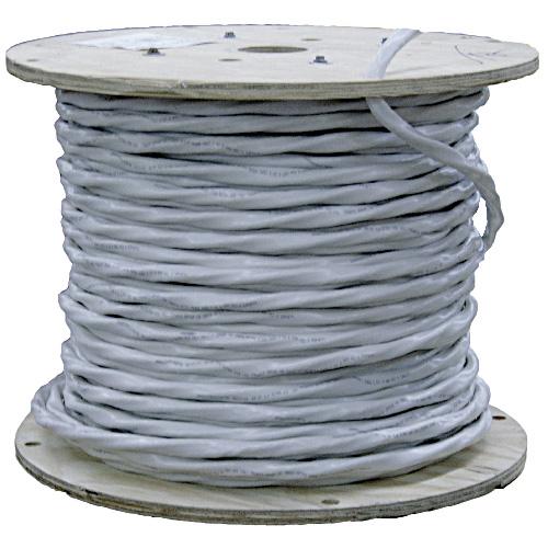 Fil électrique NMD90 de Southwire, 150 m, 6 AWG, blanc