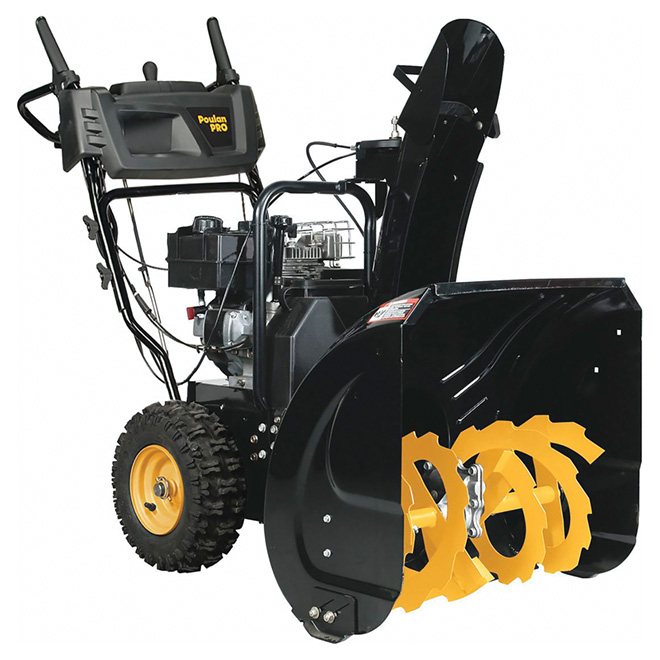 "2-Stage Snowblower - 24"" -Black"