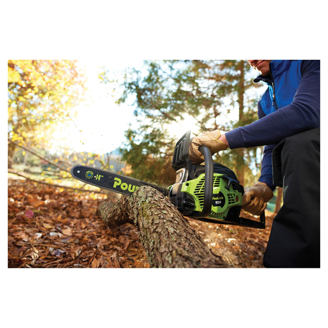 "Gas Chainsaw - 14"" - 2-Cycle - 33 cc"