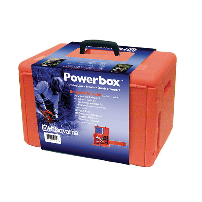 Chain Saw Carrying Case - Orange