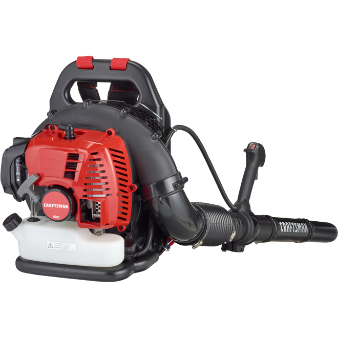 Craftsman Backpack Blower - 2-Cycle Gas Engine - 46 cc