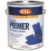 Tintable Primer for deep colours